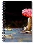 Wild Toadstool Spiral Notebook