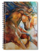 Wild Trio Run Spiral Notebook