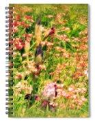 Wild Unfettered Beauty Spiral Notebook