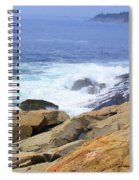 Wild Waves Spiral Notebook