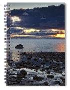 Wilderness Park Sunset Spiral Notebook