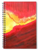 Wildfire Original Painting Spiral Notebook