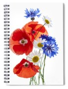 Wildflower Arrangement Spiral Notebook