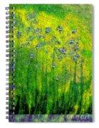 Wildflower Impression By Jrr Spiral Notebook