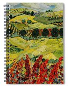 Wildflower Jungle Spiral Notebook