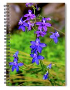 Wildflower Larkspur Spiral Notebook