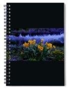 Wildflower Reflection Spiral Notebook