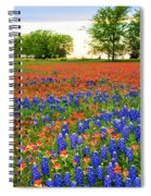 Wildflower Tapestry Spiral Notebook