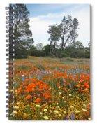 Wildflower Wonderland 2 Spiral Notebook