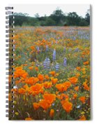 Wildflower Wonderland Spiral Notebook