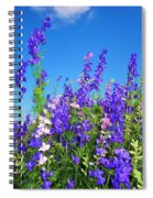 Wildflowers #11 Spiral Notebook