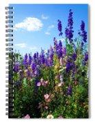 Wildflowers #9 Spiral Notebook