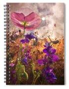 Wildflowers At Dawn Spiral Notebook
