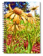 Wildflowers In The Wilds Of Colorado Spiral Notebook