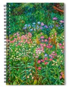 Wildflowers Near Fancy Gap Spiral Notebook