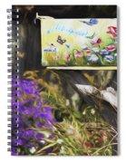 Wildlife's Mailbox Spiral Notebook