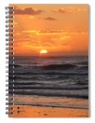 Wildwood Beach Here Comes The Sun Spiral Notebook