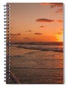 Wildwood Beach Sunrise II Spiral Notebook