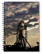 Wildwood Rides Spiral Notebook