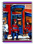 Wilenskys Hockey Art Posters Prints Cards Originals Commission Montreal Paintings Contact C Spandau Spiral Notebook