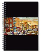 Wilenskys Hockey Paintings Montreal Commissions Originals Prints Contact Artist Carole Spandau  Spiral Notebook
