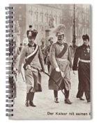 Wilhelm II & Sons Spiral Notebook