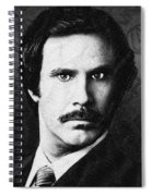 Will Ferrell Anchorman The Legend Of Ron Burgundy Drawing Spiral Notebook