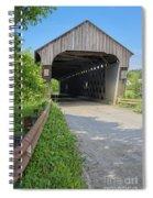 Willard Covered Bridge North Hartland Vermont Spiral Notebook