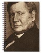 William B Spiral Notebook