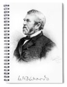 William Burnham Woods (1824-1887) Spiral Notebook