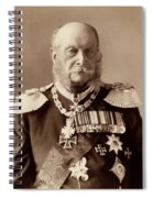 William I Of Prussia (1797-1888) Spiral Notebook