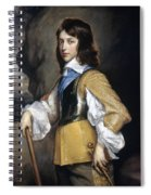 William II (1626-1650) Spiral Notebook