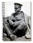 William J. Powell, American Aviator Spiral Notebook