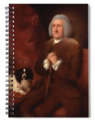 William Lowndes - A Auditor Of His Majesty's Court Of Exchequer  Spiral Notebook
