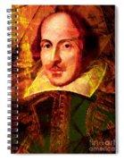 William Shakespeare 20140122 Spiral Notebook