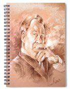 William Shatner As Denny Crane In Boston Legal Spiral Notebook