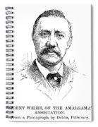 William Weihe Spiral Notebook