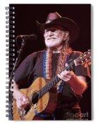Willie Nelson Spiral Notebook