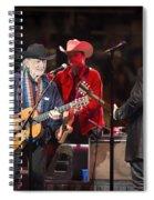 Willie Nelson - Live In Austin Spiral Notebook