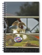 Willis Overland Spiral Notebook