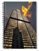 Willis Sears Tower Spiral Notebook