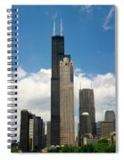 Willis Tower Aka Sears Tower Spiral Notebook