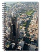 Willis Tower Southwest Chicago Aloft Spiral Notebook