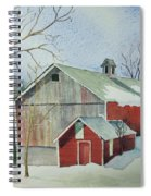 Williston Barn Spiral Notebook