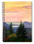 Willoughby Gap From Burke Mountain Spiral Notebook