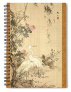 Willow And Herons Spiral Notebook