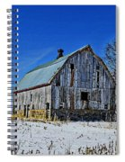 Willow Barn Painting Spiral Notebook