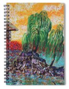 Willow Tree Isle Spiral Notebook
