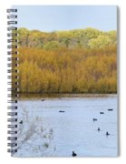 Willows Of October Spiral Notebook