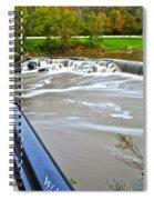 Willy Wonkas Chocolate Falls Spiral Notebook